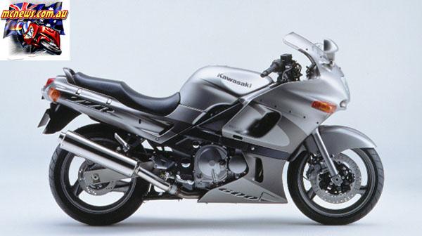 2002 Kawasaki ZZR600