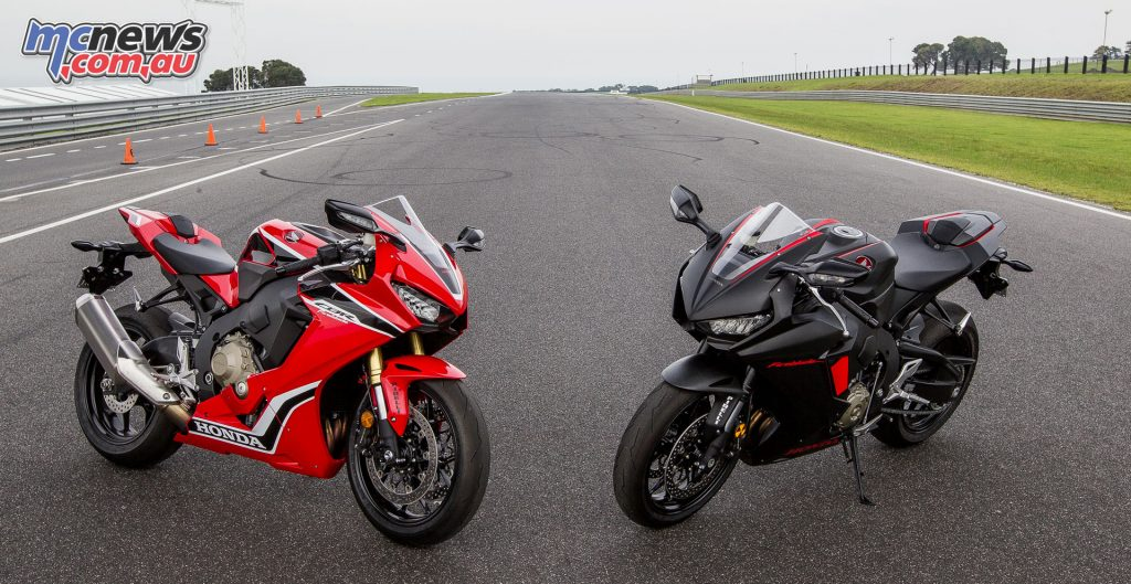 Honda's CBR1000RR led the Super Sport category, excluding the LAMS offerings