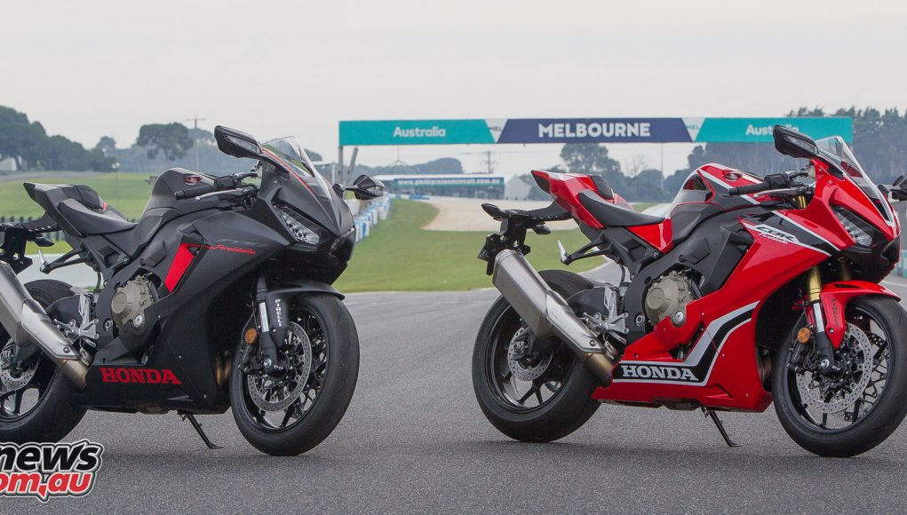 Honda's heavily revised for 2017, CBR1000RR Fireblade