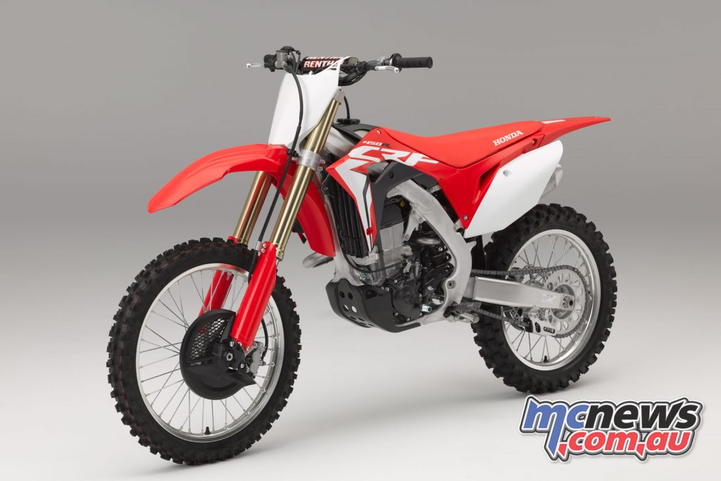 2017 Honda CRF450R with free electric start