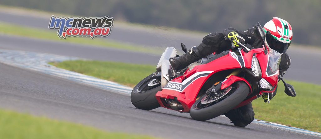 The new Honda reminds me of throwing a leg over a CBR900 at the age of 16