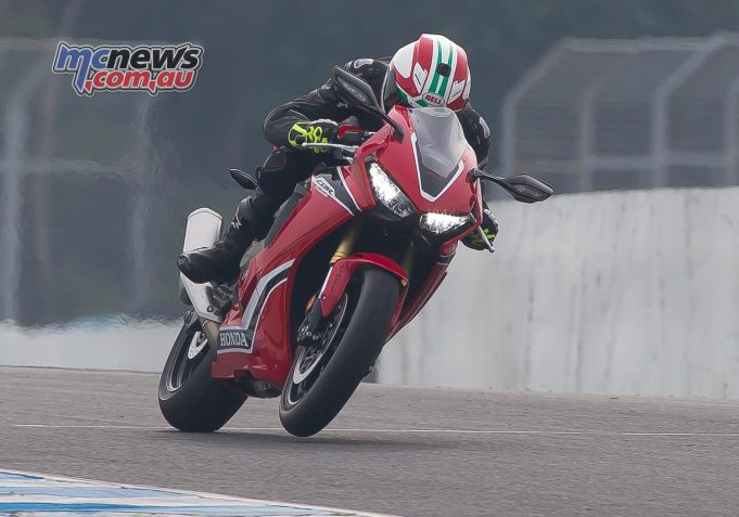 Electronics have no doubt been a major focus for Honda, with the 2017 model Fireblade including wheelie control and rear wheel lift control