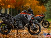 2017 KTM 1290 Super Adventure S and 1090 Adventure R