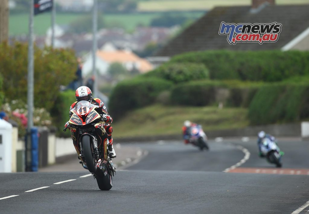 MIchael Rutter on the Superbike - Image by Double Red