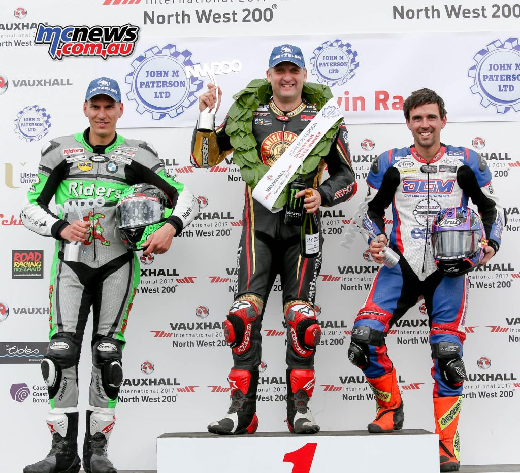 2017 NW200 Supertwin Podium - Image by DoubleRed