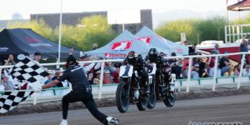 American Flat Track 2017 - Bryan Smith, Brad Barker