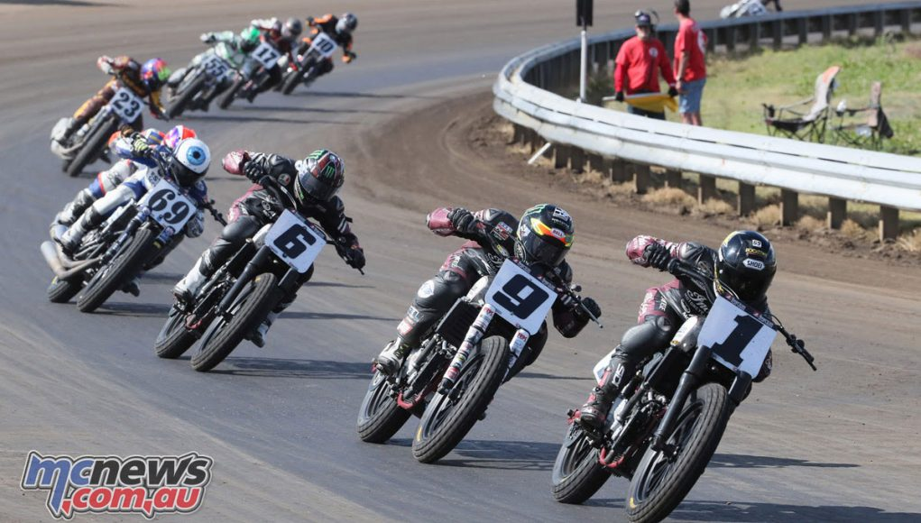 Brian Smith won the Springfield Mile from stiff competition - Image by Brian J. Nelson