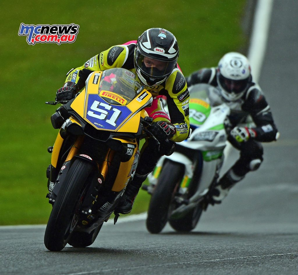 Brayden Elliott was on course for a top ten at Oulton Park before a mistake saw him card a DNF