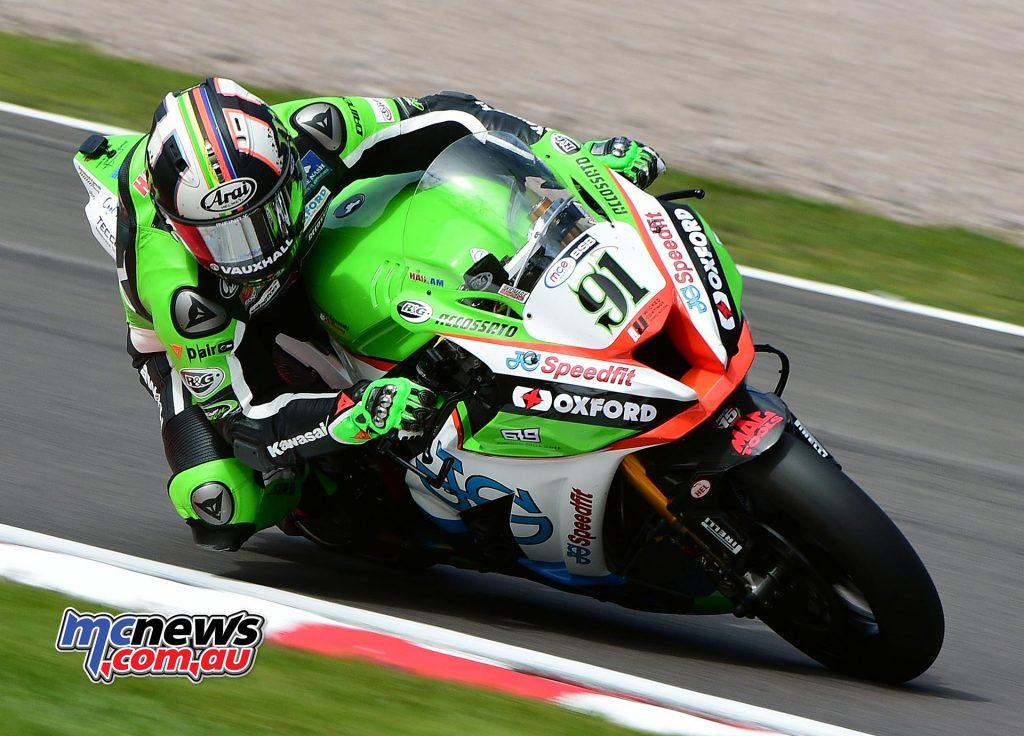 Leon Haslam - JG Speedfit Kawasaki