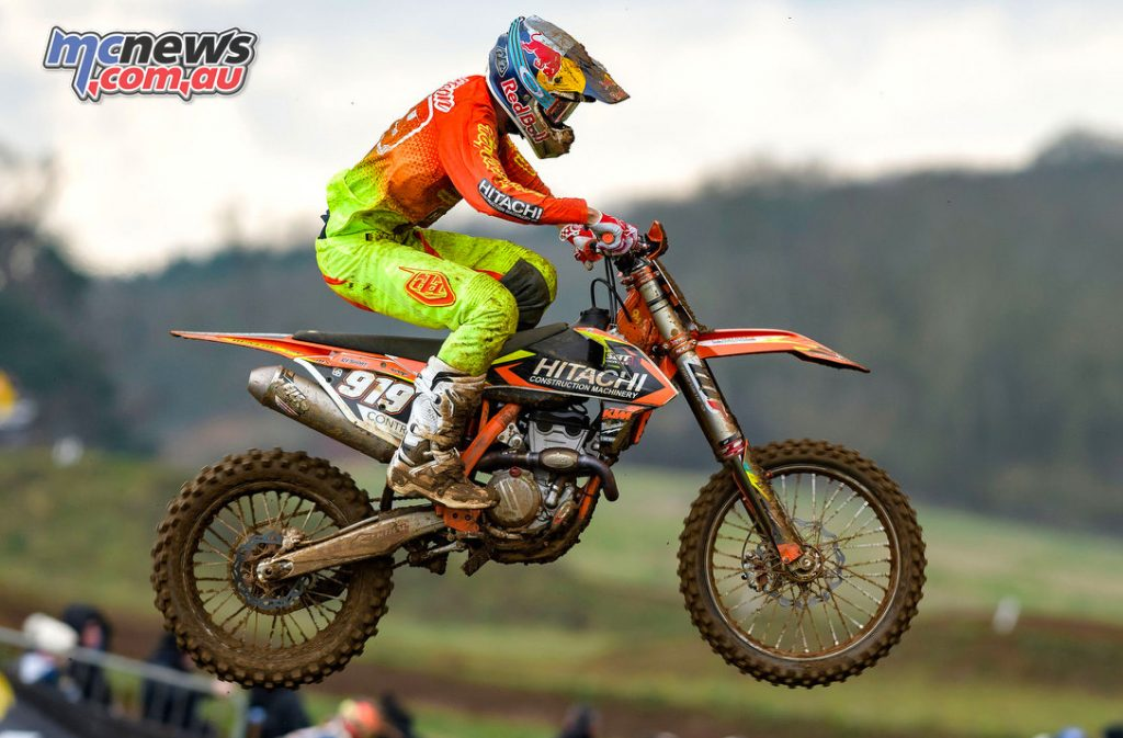 Ben Watson won the MX2 but had stiff competition from Josiah Natzke