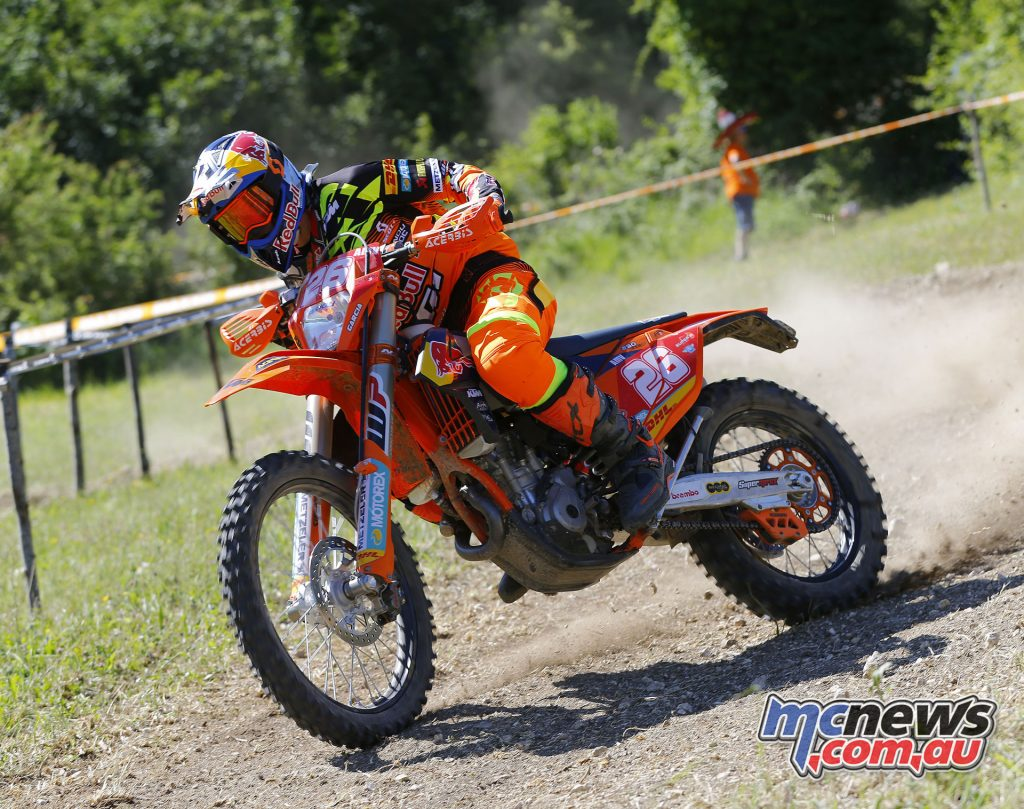 Josep Garcia took home the double win in the Enduro 2 class in Italy