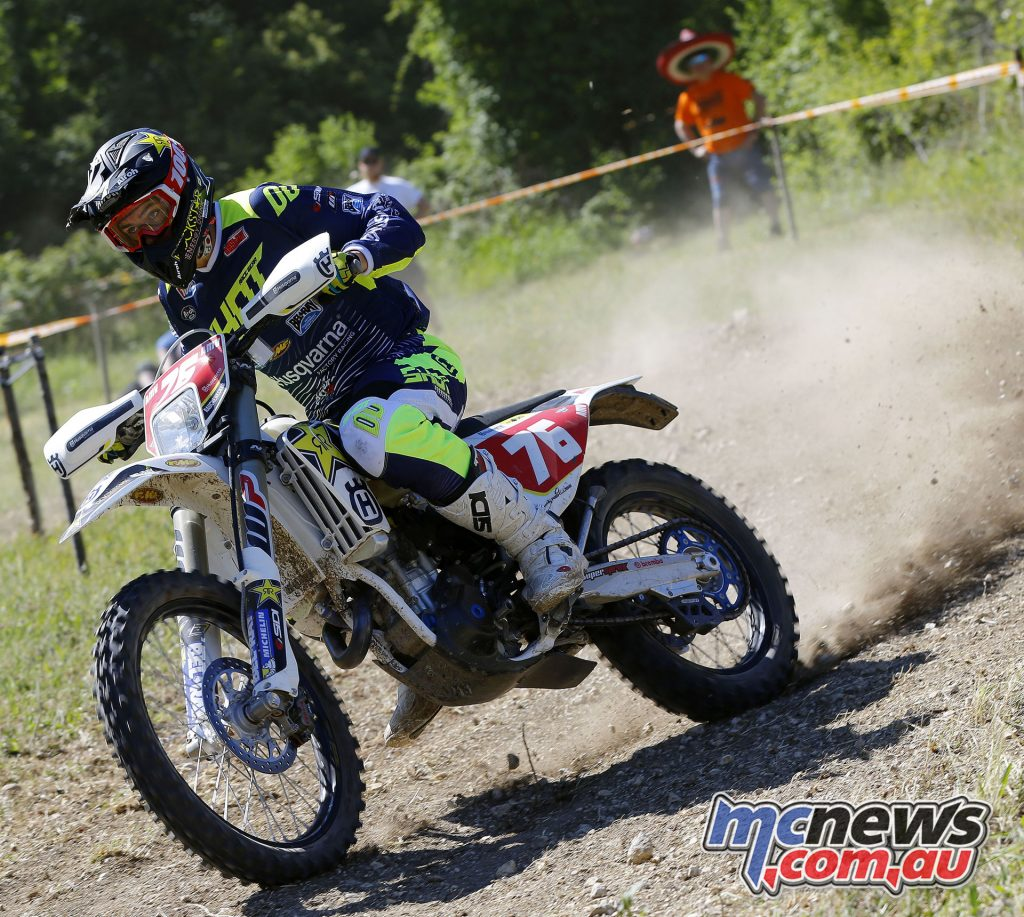 Pascal Rauchenecker took the final podium position on Day 1