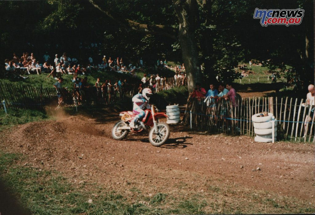 The 1989 running of the MXdN at Farleigh Castle