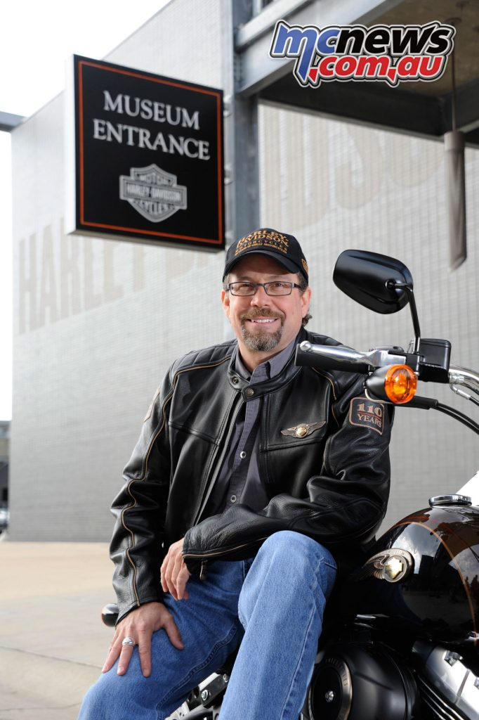 Bill Davidson - Vice President of the Harley-Davidson Museum in Milwaukee