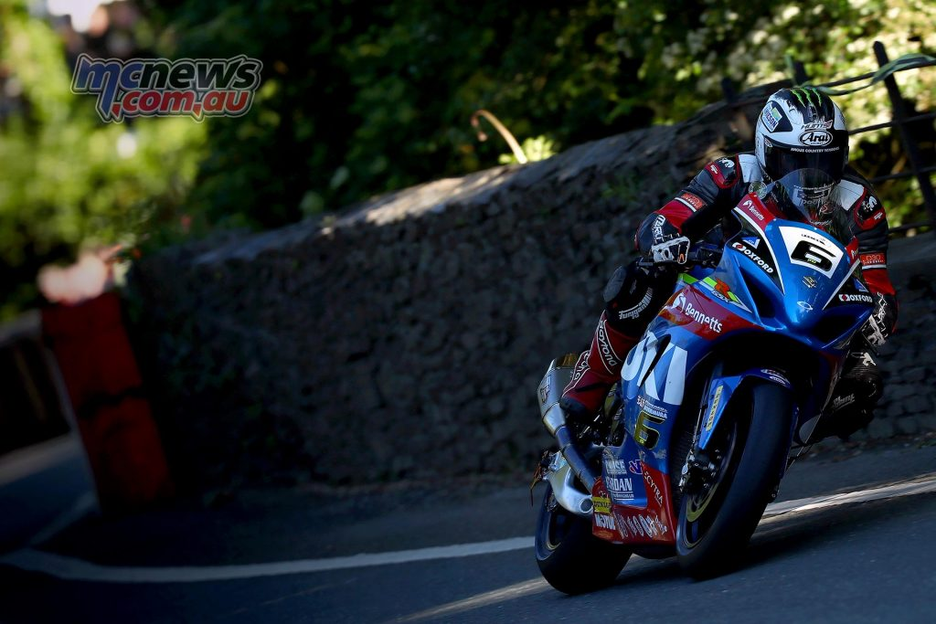 Michael Dunlop on the GSX-R1000R