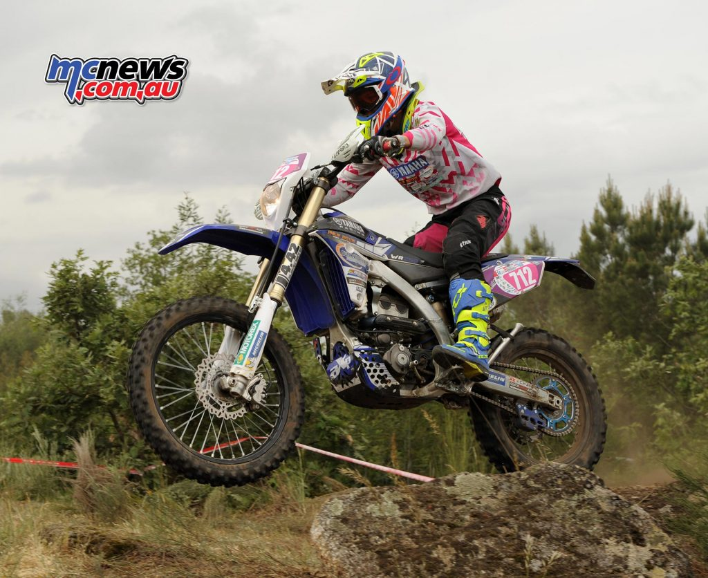 Jessica Gardiner dominated in Portugal on here WR250F Yamaha - Image by Robert Pairan