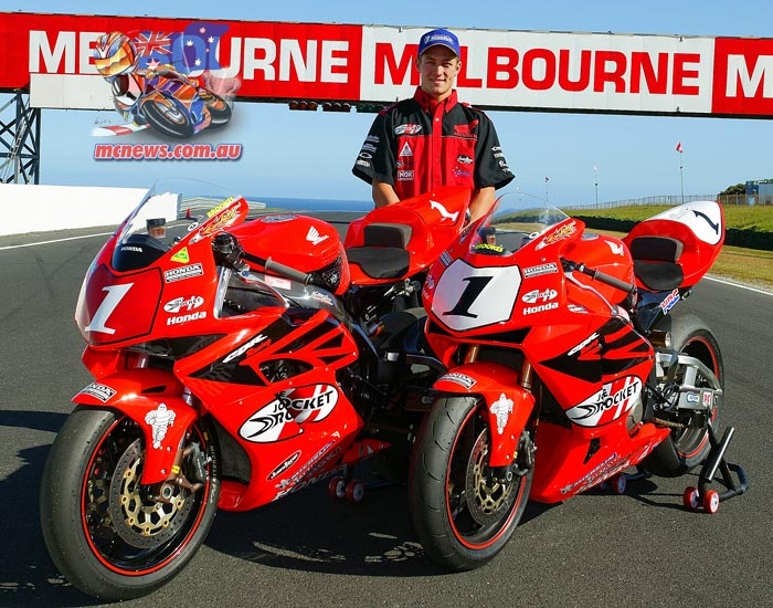 Josh Brookes has experienced much success on the CBR600RR before, including in 2005 when he wrapped up the Australian Superbike and Supersport double.
