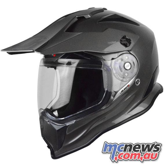 Just1 J14 Adventure Helmet in Grey
