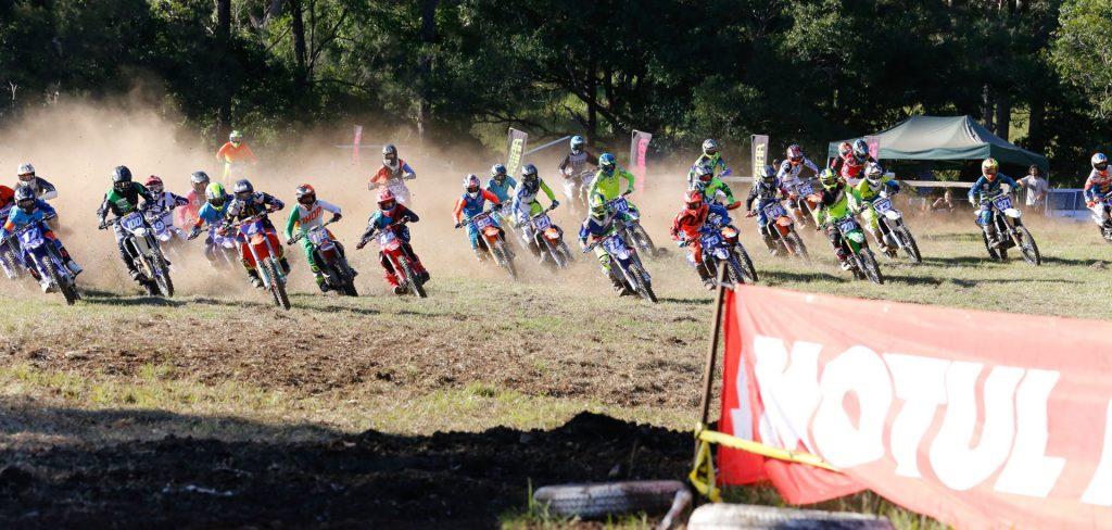 Pirelli MXD class at Conondale