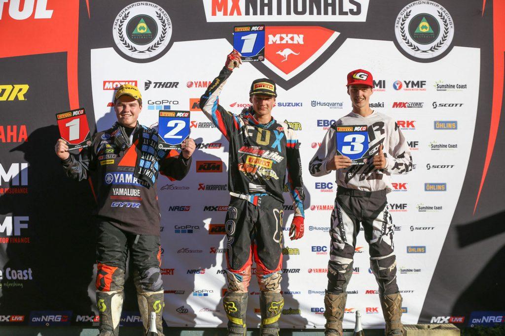 MX Nationals Round 3 - Pirelli MXD Podium