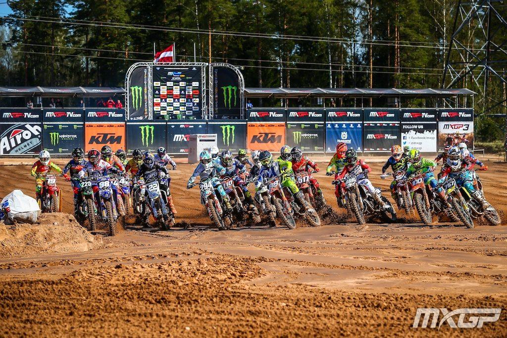 EMX125 Start - Latvia