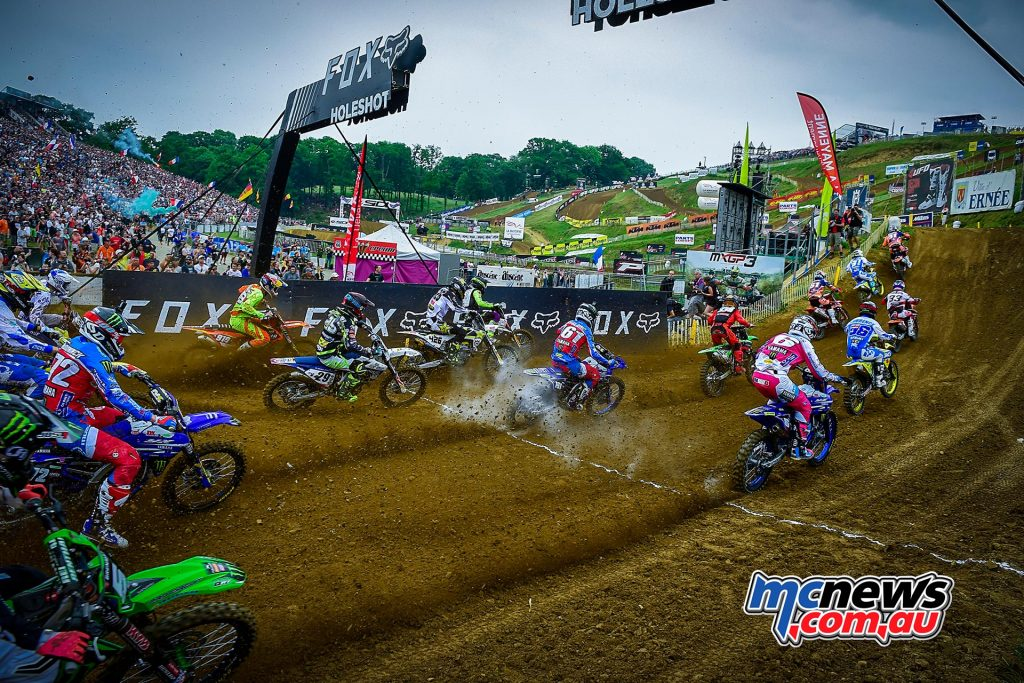 The MX2 field taking off