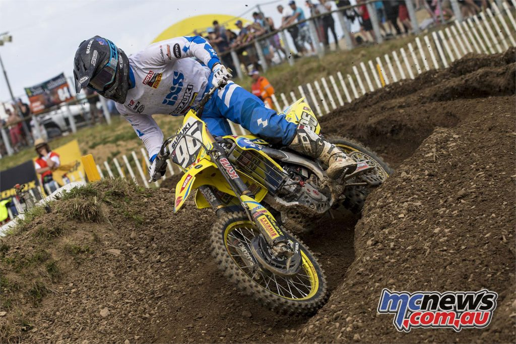 It was a challenging weekend for Hunter Lawrence who still managed to finish fourth in MX2