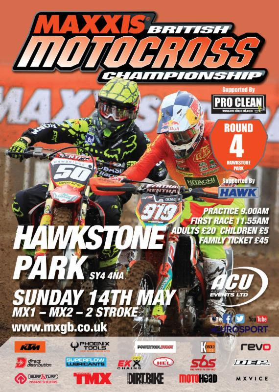 Maxxis British Motocross - Hawkstone 2017