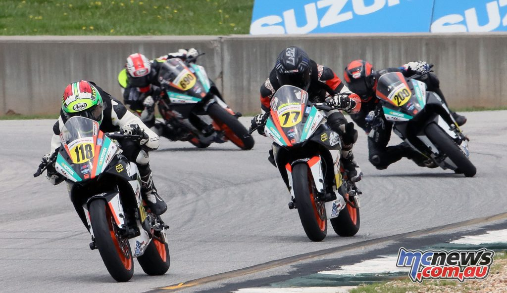 KTM RC Cup action from Atlanta - Image by Brian J Nelson