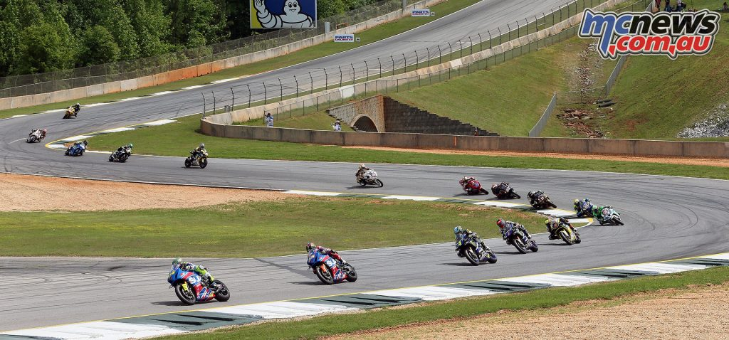 MotoAmerica Superbikes at Road Atlanta - Image by Brian J Nelson