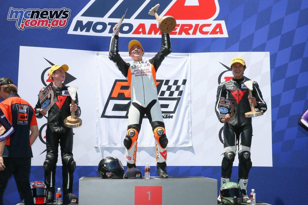 Race 2 KTM RC Cup Podium