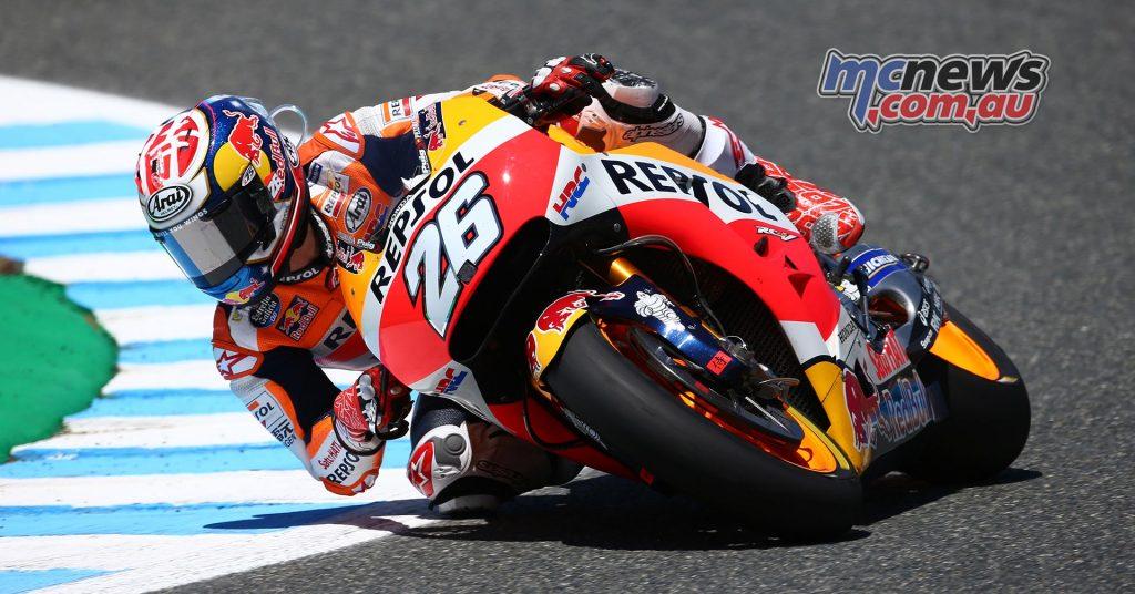 Dani Pedrosa dominated in Jerez