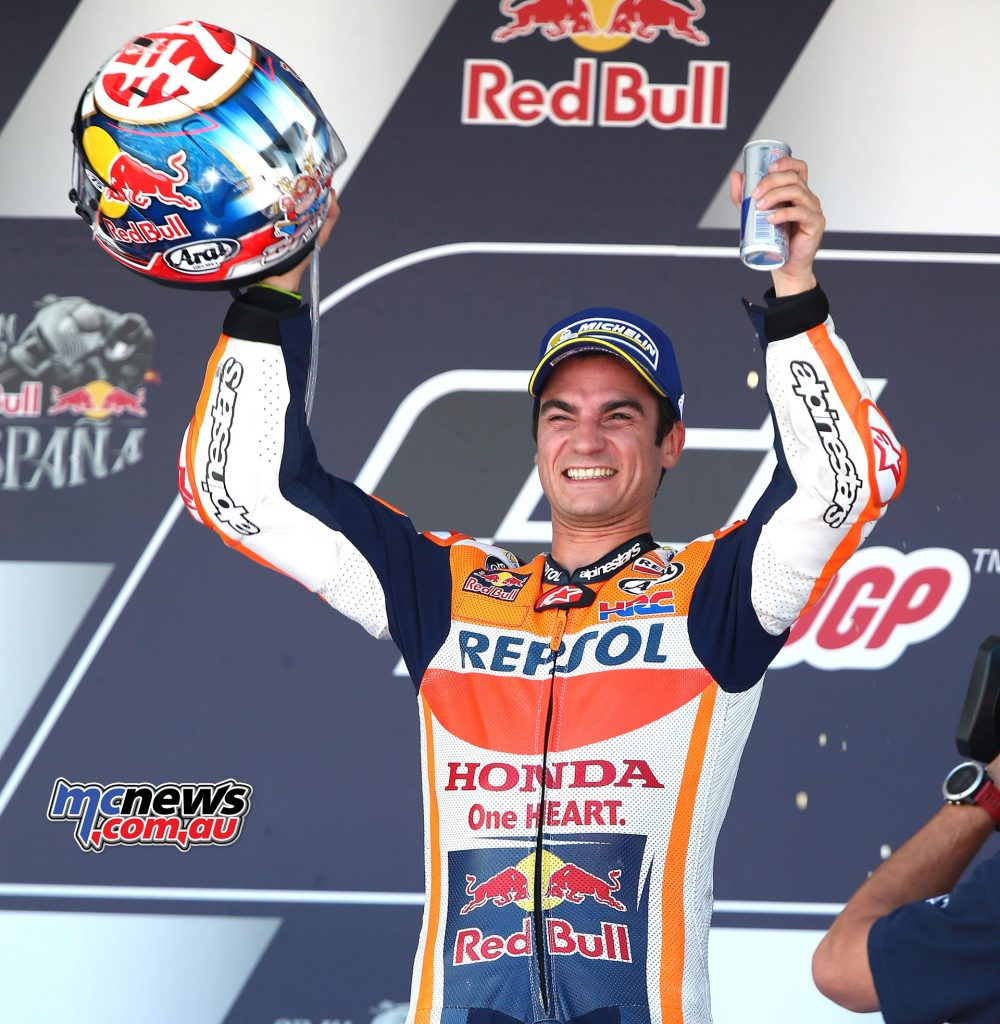 Dani Pedrosa the victor at Jerez 2017