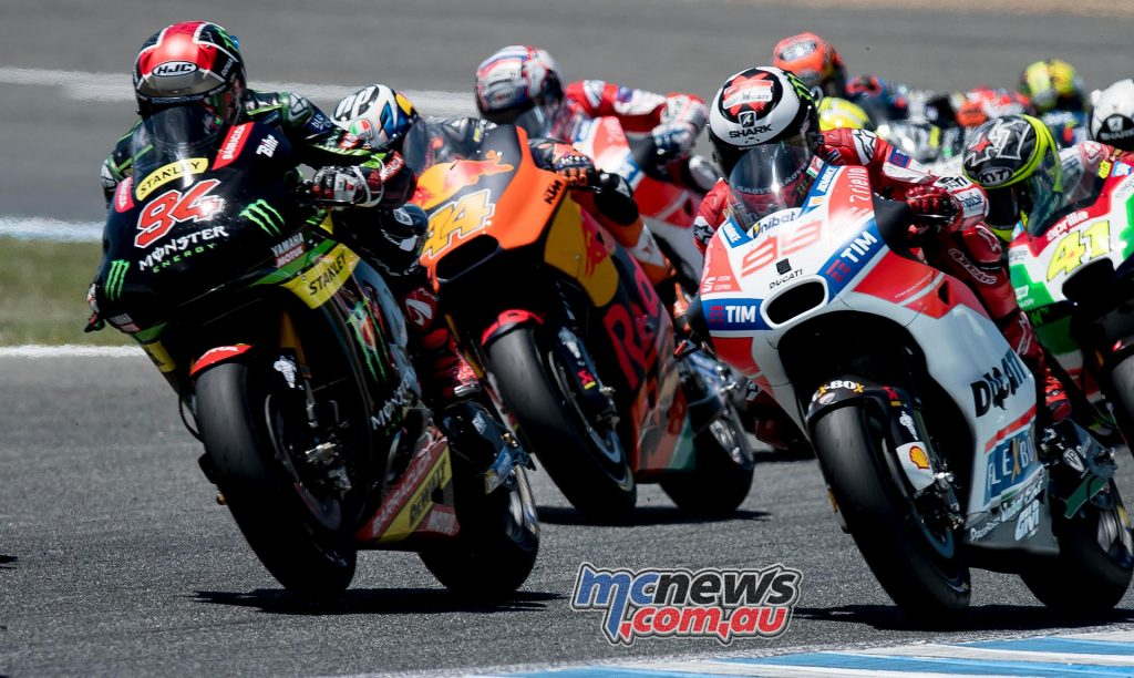 Jonas Folger was right in the mix at Jerez
