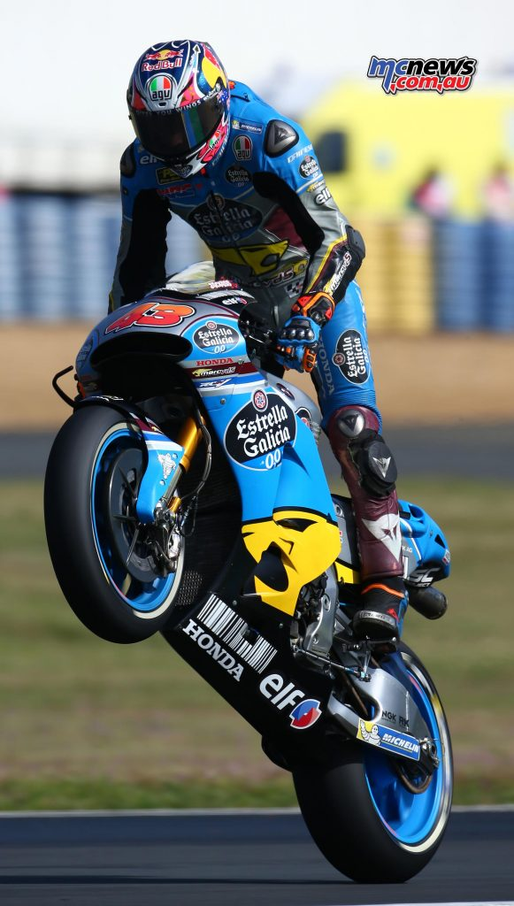 Jack Miller celebrates a top ten finish after a tumultuous #FrenchGP for the young Australian