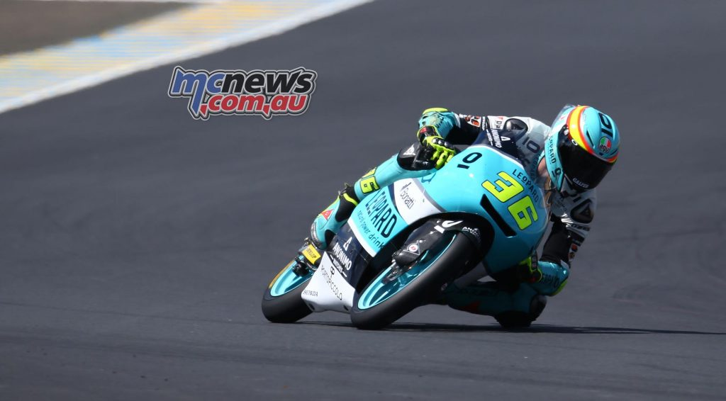 Joan Mir leads the Moto3 championship by a massive 34 points