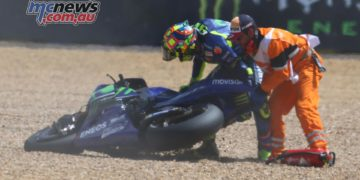 Valentino Rossi faltered at Le Mans