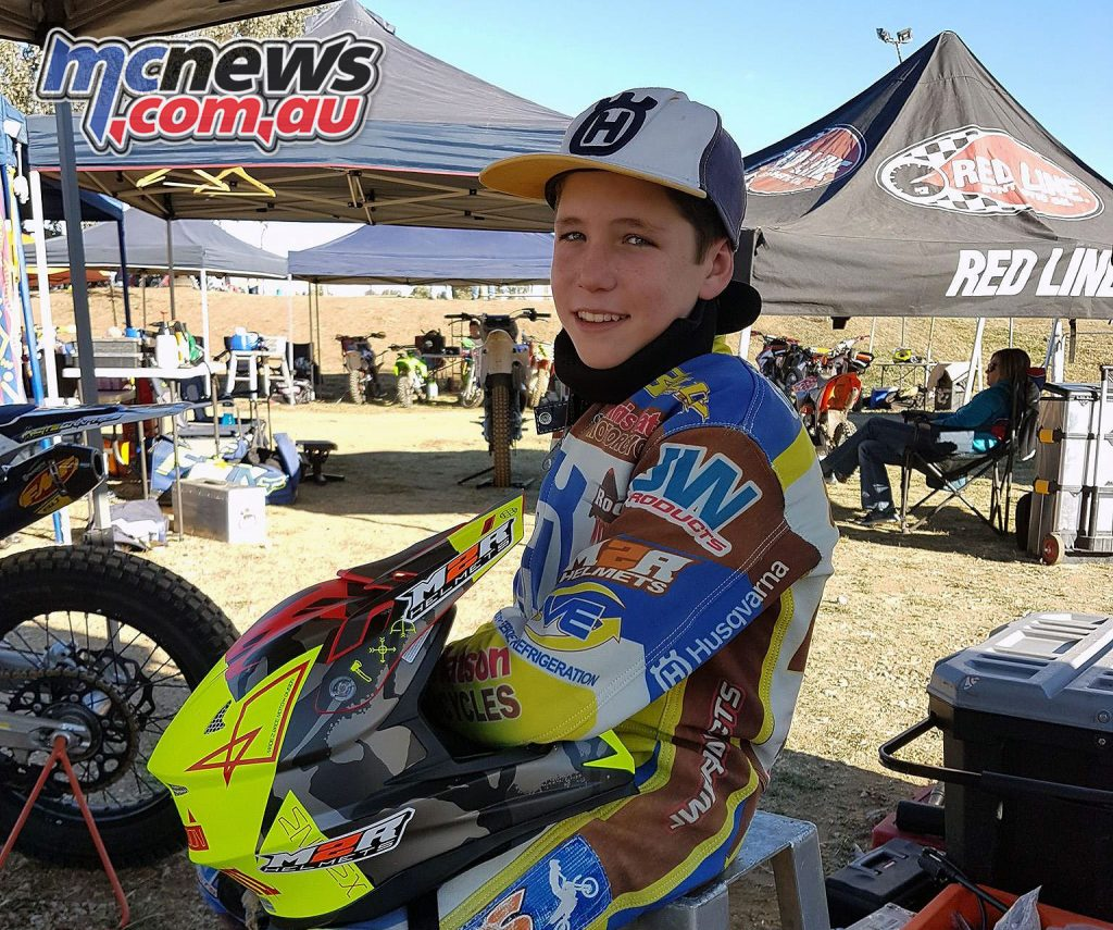 Billy Van Eerde has been making the transition from dirt track to road racing
