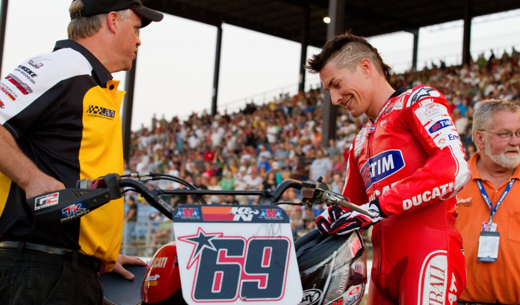 Indy Mile - USGP - AMA Pro Flat Track- Indianapolis Fairgrounds - Indianapolis IN USA - August 28, 2010 - Andrea Wilson photography
