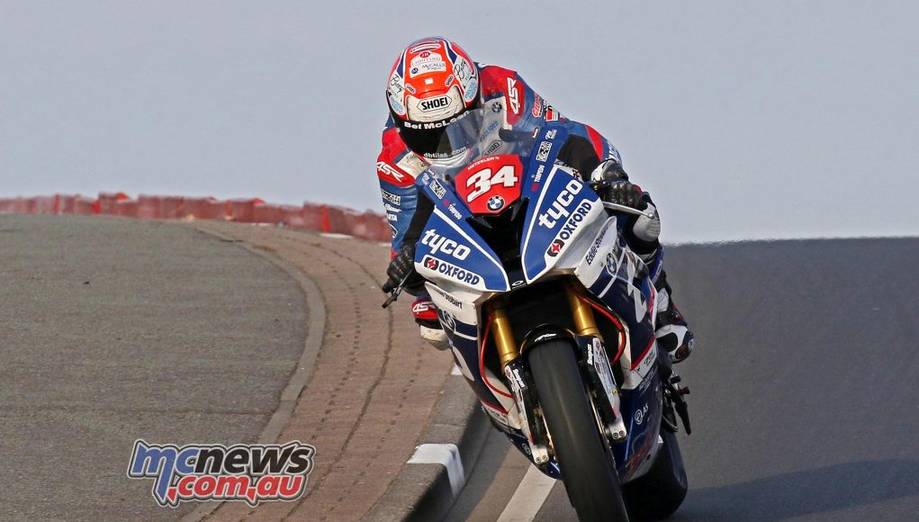 Alastair Seeley smashed the Superstock lap record on way to his 18th NW200 victory