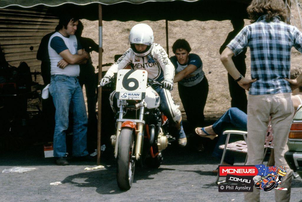 1980 Swann Series - Oran Park - Wayne Gardner on the CB1100R