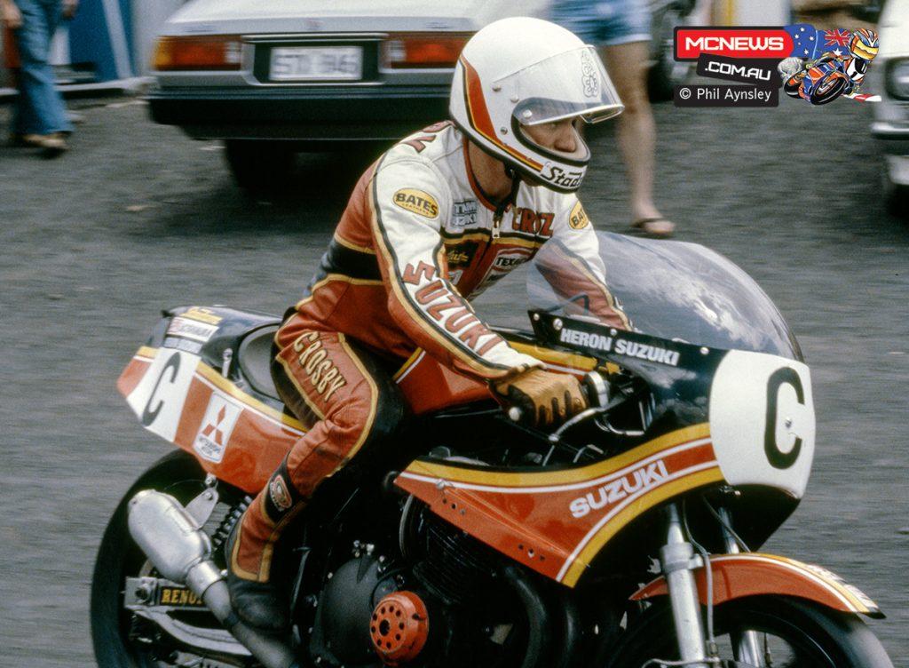 1980 Swann Series - Oran Park - Graeme Crosby on the Suzuki XR69
