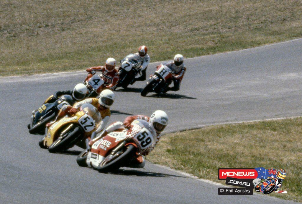 1980 Swann Series - Oran Park - Ron Boulden, Gary Coleman, Graham Muir, Dennis Neill, Ron Haslam, Andrew Johnson