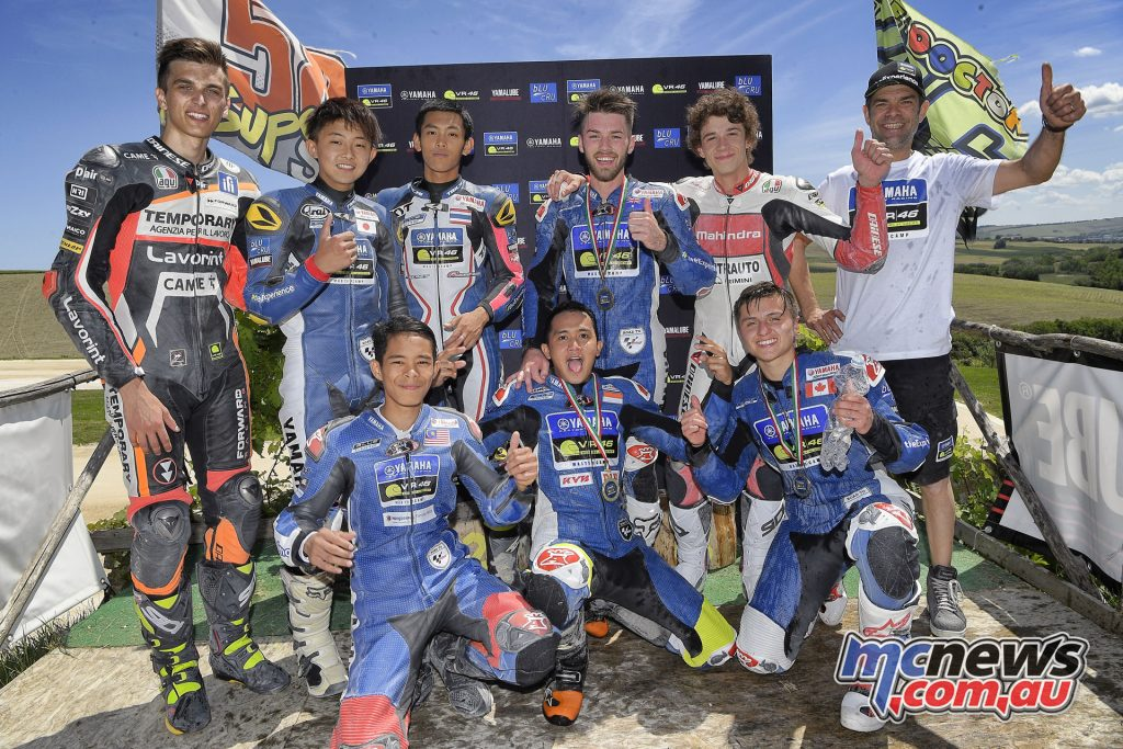 Yamaha VR46 Master Camp - Brandon Demmery was third in the final challenge