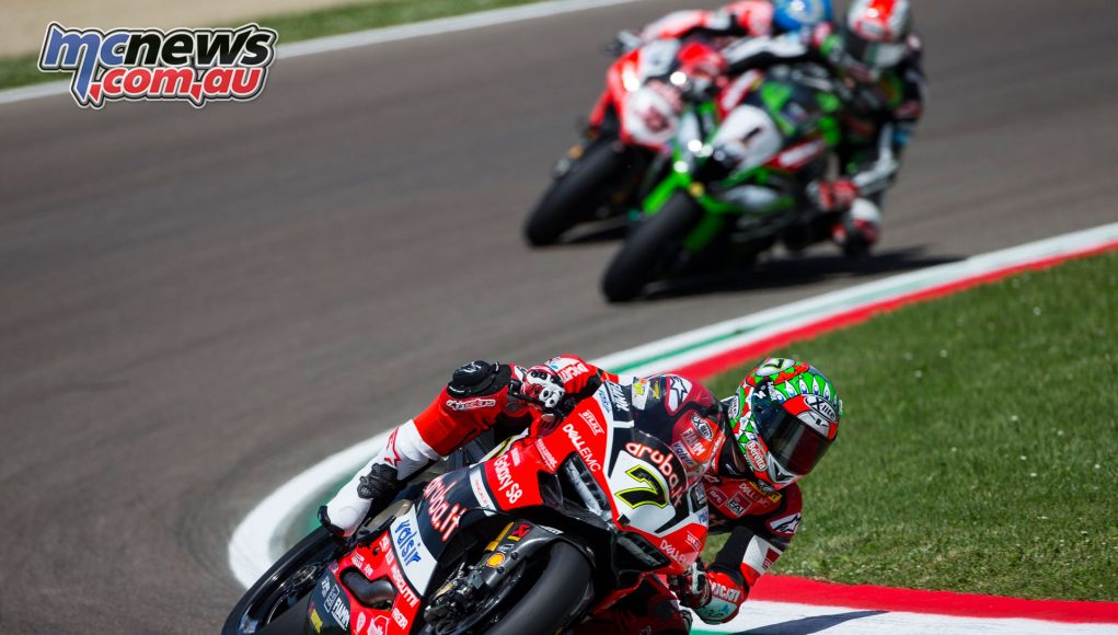 Chaz Davies takes the double at Imola, repeating his 2016 performance