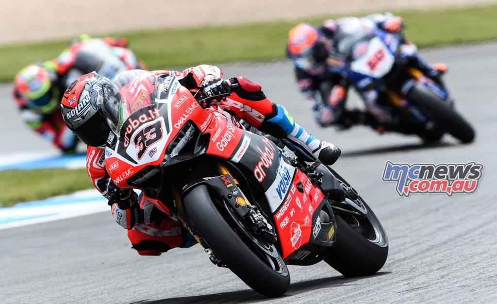 Marco Melandri (Aruba.it Racing - Ducati #33)