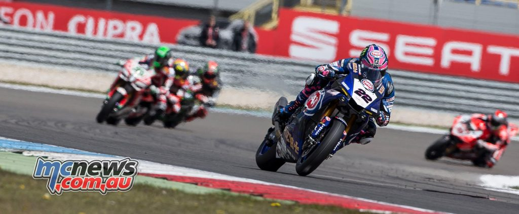 Alex Lowes admitted that set-up on the Yamaha continued, and he was seeking consistency to match his speed.