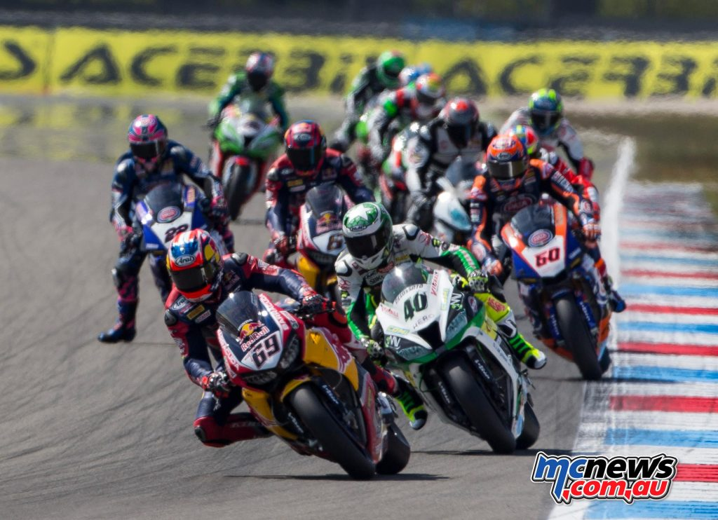 Nicky Hayden described a challenging weekend with a good result in Race 2
