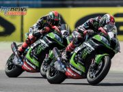 It was the Kawasaki's of Rea and Sykes which took the top spots at Assen
