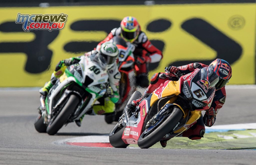 Stefan Bradl struggled to find a rhythm early in the race and looks towards Imola for further improvement